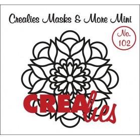 Pochoir Masks and More Mini Mandala B – Crealies