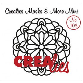 Pochoir Masks and More Mini Mandala C – Crealies