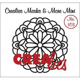 Pochoir Masks and More Mini Mandala C – Crealies