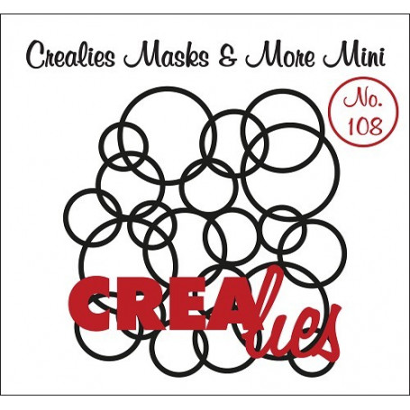 Pochoir Masks and More Mini Interlocking circles – Crealies