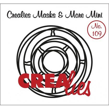 Pochoir Masks and More Mini Intertwined circles – Crealies