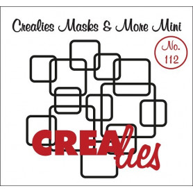 Pochoir Masks and More Mini Interlocking squares – Crealies