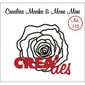 Pochoir Masks and More Mini Rose – Crealies