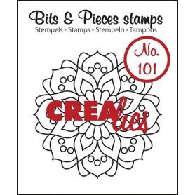 Tampon Mandala A – Bits and Pieces no 101 - Crealies