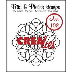 Tampon Mandala B – Bits and Pieces no 102 - Crealies