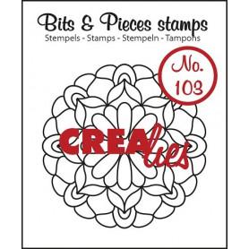 Tampon Mandala C – Bits and Pieces no 103 - Crealies