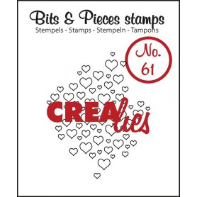 Tampon Open hearts – Bits and Pieces no 61 - Crealies