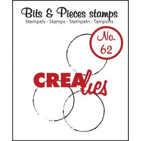 Tampon Big grunge circles – Bits and Pieces no 62 - Crealies