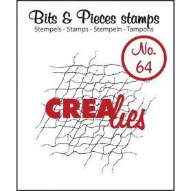 Tampon Messy fibers – Bits and Pieces no 64 - Crealies