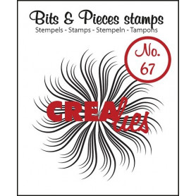 Tampon Circle of swirls B – Bits and Pieces no 67 - Crealies