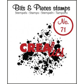 Tampon Ink splashes bold – Bits and Pieces no 71 - Crealies