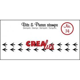 Tampon Paws bird – Bits and Pieces no 74 - Crealies