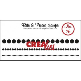 Tampons Dots in a row – Bits and Pieces no 76 - Crealies