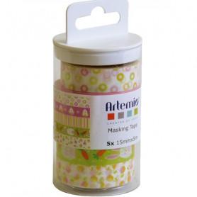Masking Tape Pâques 5 x 5 m - Artemio