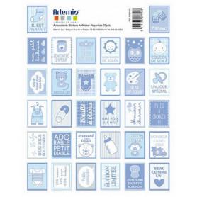 Stickers Timbres Baby boy - Artemio