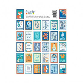 Stickers Timbres Graphic Time - Artemio