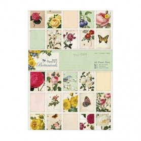 Set de papier A5 Botanicals 32f – Docrafts Papermania