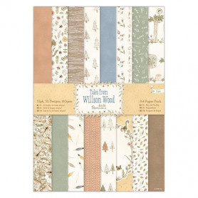 Set de papier A4 Tales from Wilson Wood 32f - Docrafts Papermania