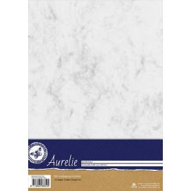 Set de papier A4 Metamorphic Marble Grey 10f – Aurelie