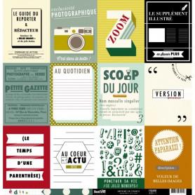 Papier 30x30 Figaro 1f - Edito Kesi'art