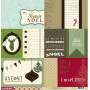 Papier 30x30 Kerstmis 1f - Collection Avent Kesi'art
