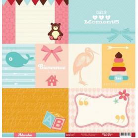 Papier 30x30 Cadeau 1f - Collection Adorable Kesi'art