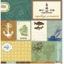 Papier 30x30 Rivage 1f - Collection Bord de mer Kesi'art