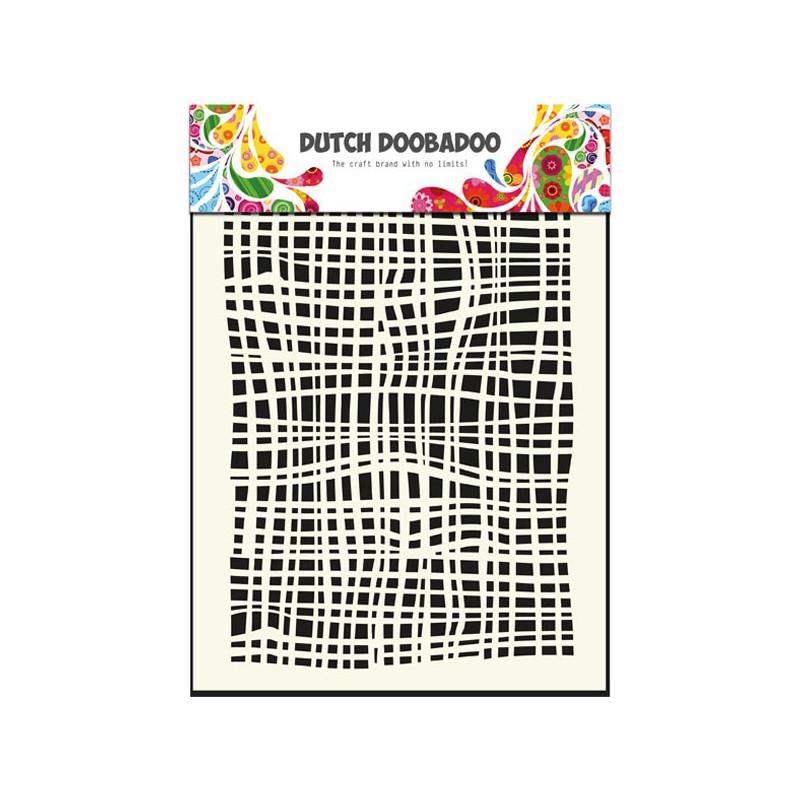 Pochoir A5 Textile – Dutch Doobadoo