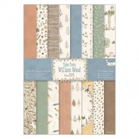 Set de papier A5 Tales from Wilson Wood 32f – Docrafts Papermania