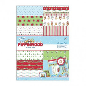 Set de papier A5 Pippinwood Christmas 26f – Docrafts Papermania
