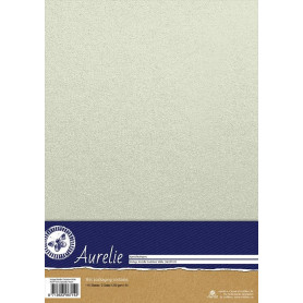 Set de papier A4 Metallic White 10f – Aurelie
