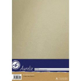 Set de papier A4 Metallic Ivory 10f – Aurelie
