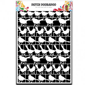 Embellissements papier A5 Oiseaux – Dutch Paper Art - Dutch Doobadoo