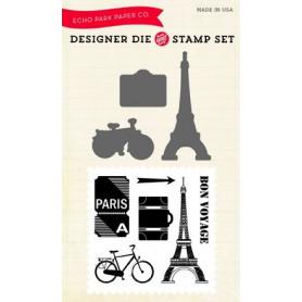 Die & stamp set Getaway - Echo Park