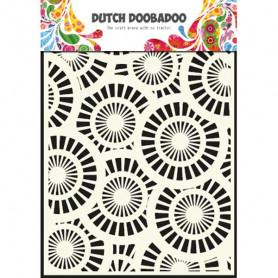 Pochoir A5 Cercles – Dutch Doobadoo
