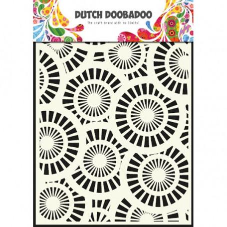 Pochoir A5 Cercles – Dutch Doobadoo