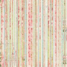 Papier 30x30 Soirée Stripe 1f – Bo Bunny