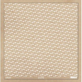Crystal transparent 30x30 Flèches blanc 1f – Swirlcards