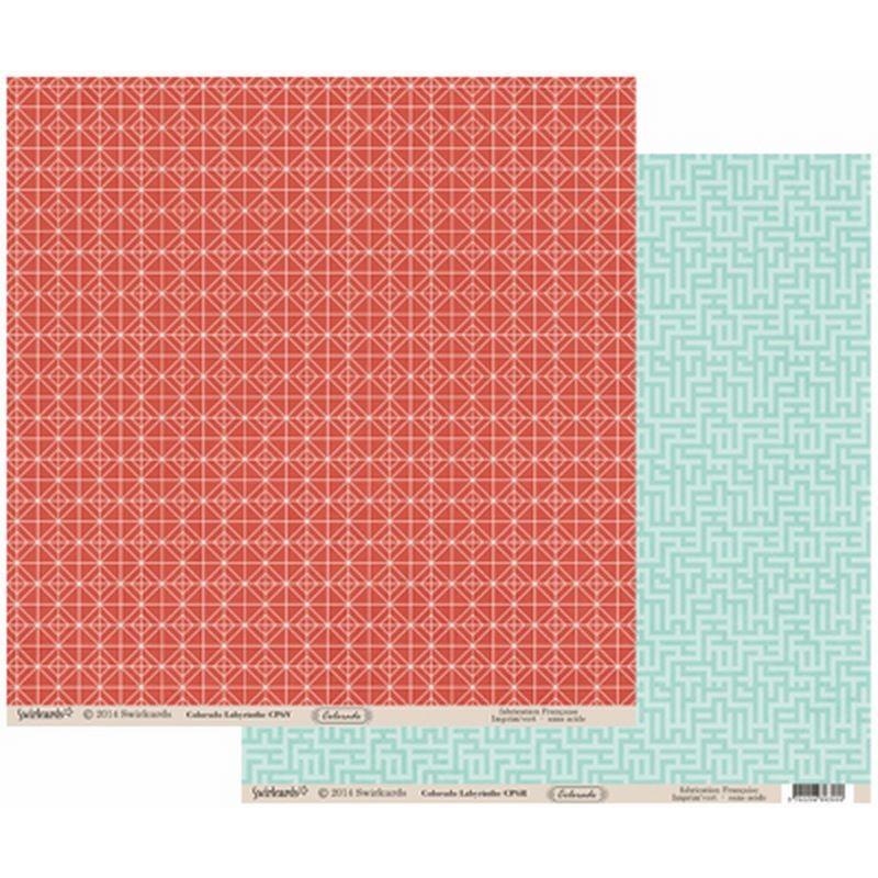 Papier 30x30 Colorado Labyrinthe 1f – Swirlcards