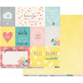 Papier 30x30 Primavera Petites cartes 1f – Swirlcards