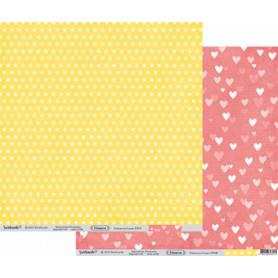 Papier 30x30 Primavera Coeurs – Swirlcards