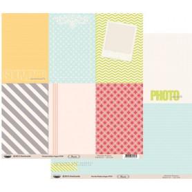 Papier 30x30 Floride Petites Pages 1f – Swirlcards