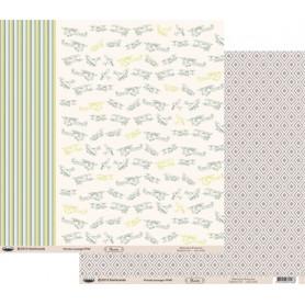 Papier 30x30 Floride Losange 1f – Swirlcards