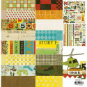 Kit de scrapbooking Toy Box 16f et die-cuts - Crate Paper