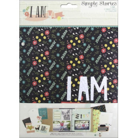 Intercalaires I am SN@P 8 pages et 1 enveloppe - Simple Stories