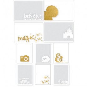 Photo overlays Cheese II Disney 10 pcs - Simple Stories