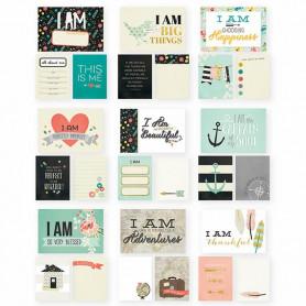 Cartes Project Life I am SN@P 72 pcs - Simple Stories
