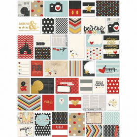 Cartes Project Life Say Cheese II 72 pcs - Simple Stories SN@P Cards