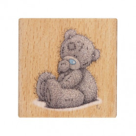 Tampon bois Sitting Bear – Me To You