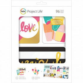 Cartes Project Life Mix & Match 96 pcs - Becky Higgins
